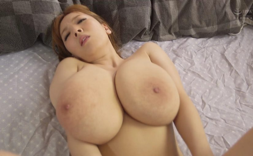 Excellent massage with her Giant Tits
